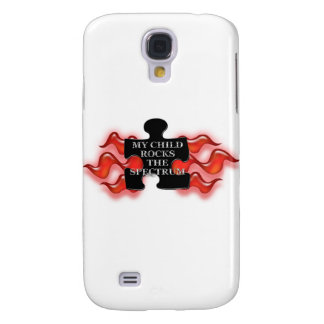 My Child Rocks Puzzle shape 2 Samsung Galaxy S4 Covers