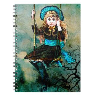 MY CHILDHOOD SWING AWAITS 3.jpg Notebook