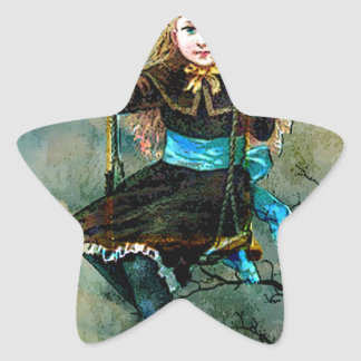 MY CHILDHOOD SWING AWAITS 3.jpg Star Sticker