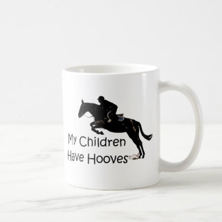 My Children Have Hooves Equestrian Horse Mug