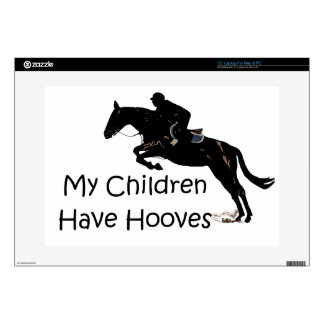 "My Children Have Hooves Horse 15"" Laptop Skin"