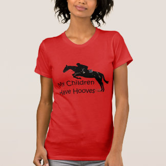 My Children Have Hooves Horse Ladies T-Shirt