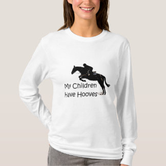 My Children Have Hooves Horse Long Sleeve T-Shirt