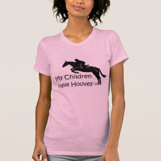My Children Have Hooves Pink Horse Tank Top