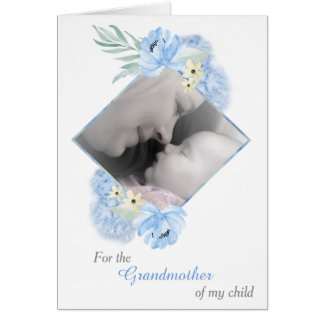 My Child's Grandmother Photo Template Mother's Day