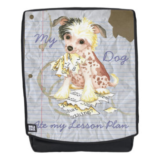 My Chinese Crested Ate my Lesson Plan Backpack