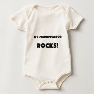 MY Chiropractor ROCKS! Baby Bodysuit