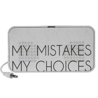My choices my mistakes travelling speaker