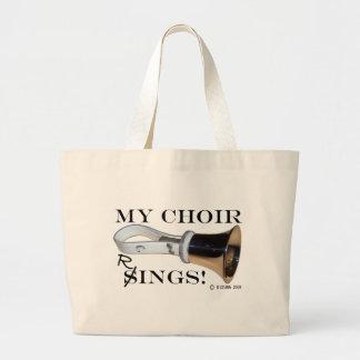 My Choir Rings Jumbo Tote Bag