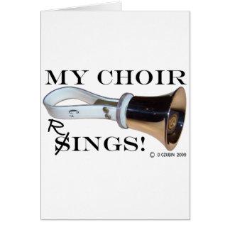 My Choir Rings Card