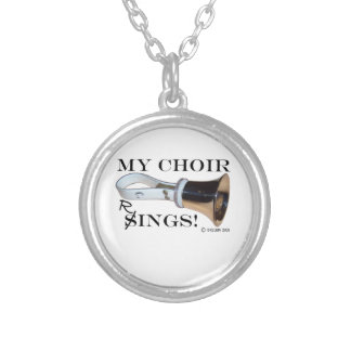 My Choir Rings Silver Plated Necklace