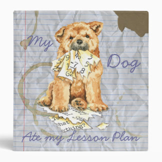 My Chow Chow Ate My Lesson Plan Binder