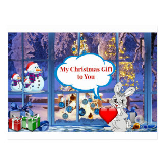 My Christmas Gift to You.jpg Postcard