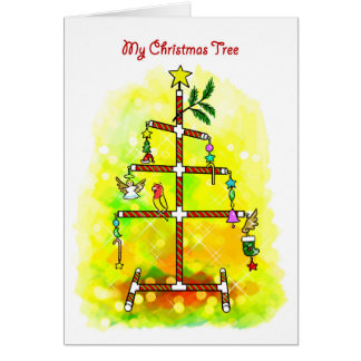 My Christmas tree Card