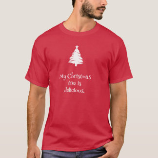 My Christmas Tree is Delicious T-shirt
