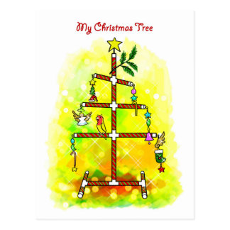 My Christmas tree Postcard