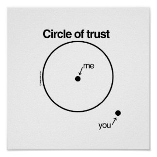 MY CIRCLE OF TRUST POSTER
