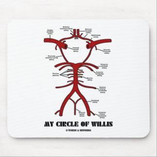 My Circle Of Willis (Arteries Anatomical Humor) Mouse Pad