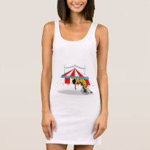 My Circus Tunic In Memory of Circus Elephants Sleeveless Dress
