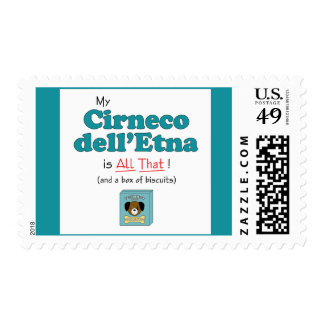 My Cirneco dell'Etna is All That! Postage