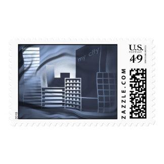 my city-1 stamp