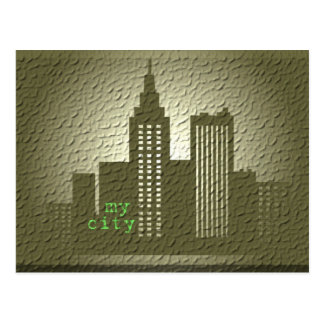 my city post card