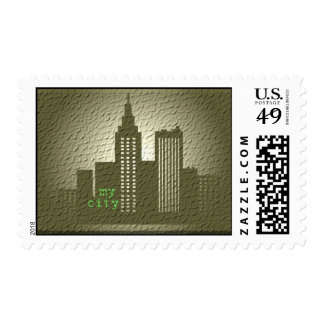 my city postage
