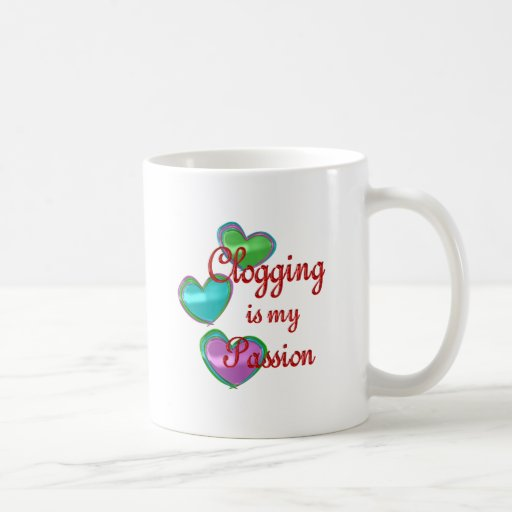 My Clogging Passion Coffee Mugs