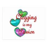 My Clogging Passion Postcard