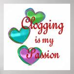 My Clogging Passion Print