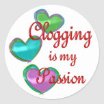 My Clogging Passion Stickers