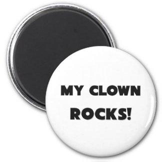 MY Clown ROCKS! Refrigerator Magnets