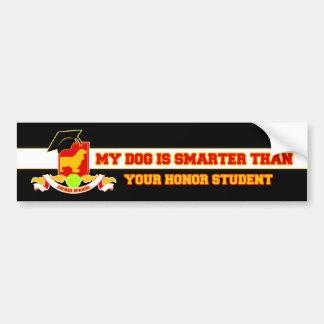 My Cocker Spaniel Is Smarter Bumper Stickers