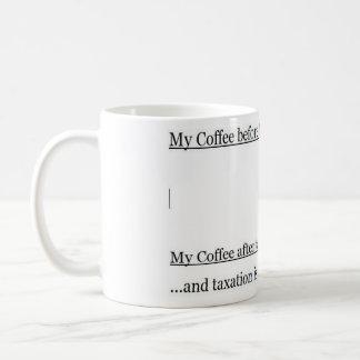 My Coffee and Taxation Coffee Mug