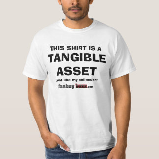 My Collection is a Tangible Asset T Shirt