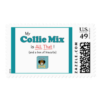 My Collie Mix is All That! Postage