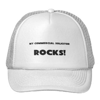 MY Commercial Solicitor ROCKS! Trucker Hat