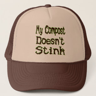 61aee65c4cd My Compost Doesn t Stink Funny Gardener Trucker Hat