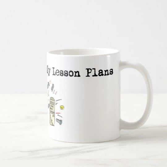 My Computer Ate My Lesson Plans Coffee Mug