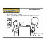 My Computers got a Virus Cartoon PostCard
