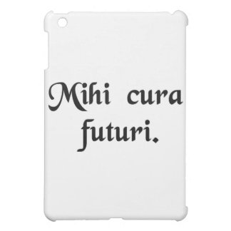 My concern is the future. cover for the iPad mini