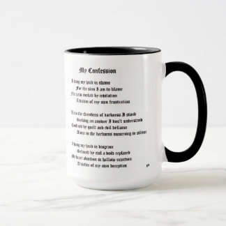 My Confession Mug