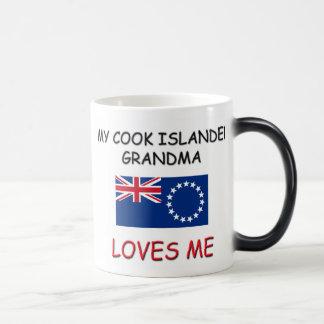 My Cook Islander Grandma Loves Me Magic Mug