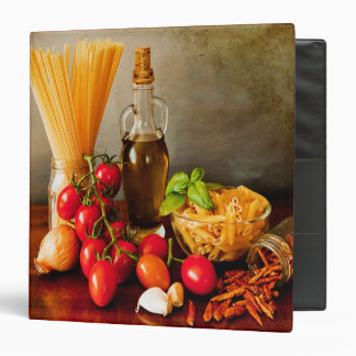 My cookbook binder