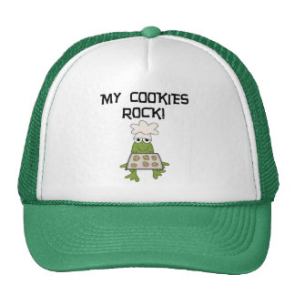 My Cookies Rock Tshirts and Gifts Hat