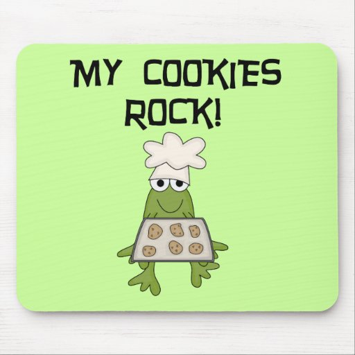 My Cookies Rock Tshirts and Gifts Mouse Pad