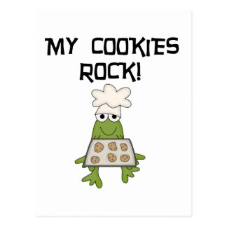 My Cookies Rock Tshirts and Gifts Postcard