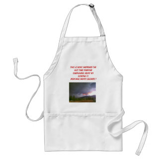My cooking adult apron