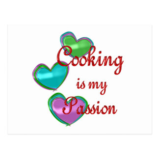 My Cooking Passion Postcard