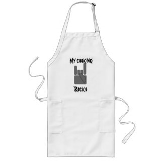 My cooking Rocks Long Apron